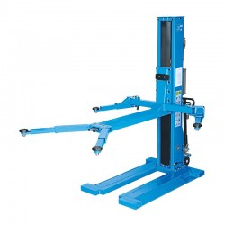 RP-Tools Hydraulic 1-post lift, 2.5 t, extra low