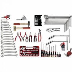 USAG 496 B1 Assortment tools for car repair (85 pcs.)