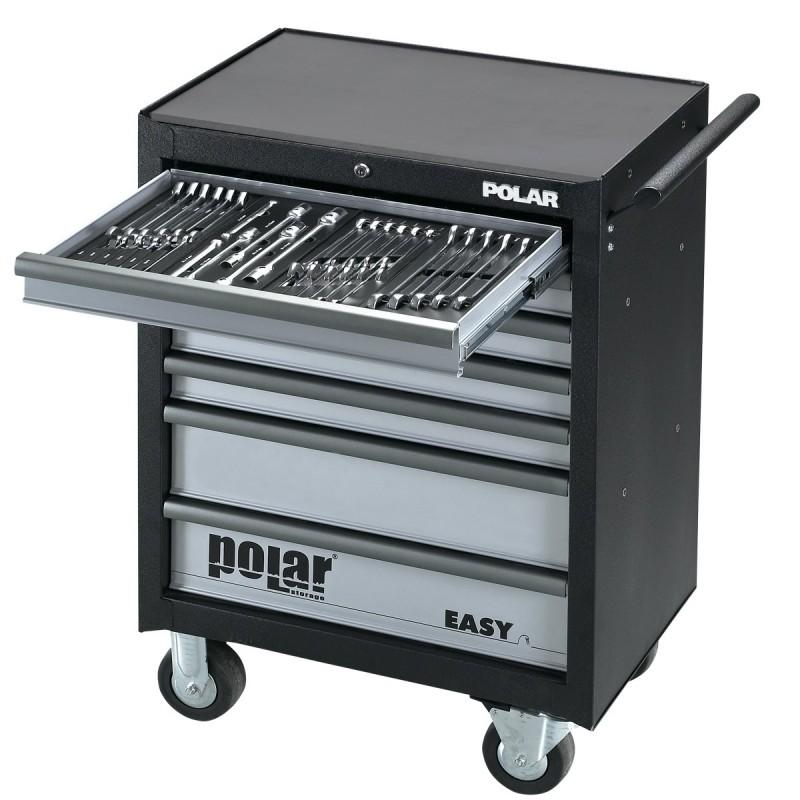 Contimac Tool trolley POLAR - 163 pieces