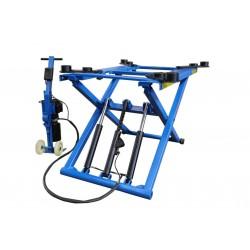 Pont de carrosserie / élévateur à ciseaux mobile 2800kg OreikO serie bleu