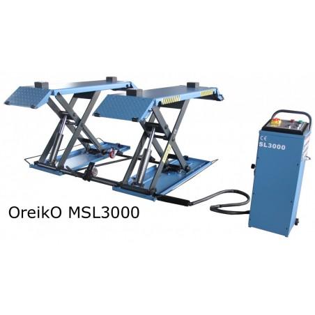 OreikO MSL3000 schaarhefbrug 3000kg 220V eco reeks