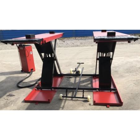 OreikO verplaatsbare schaarhefbrug  bandenbrug HY3512 - 220V - 3500kg - CE