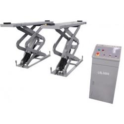 OreikO LSL3000 Pont à double ciseaux - à encastrer 3000 kg - 220 V - CE