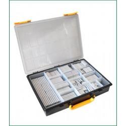 Gamme des poids adhésifs 670C minces 270 pcs 3,8 mm
