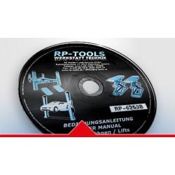 RP-Tools notice pour les installateurs RP-6253B2, RP-R-6254B2