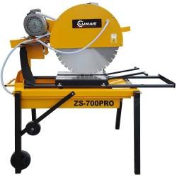 Lumag ZS-700PRO Scie à matériaux chantier - Pierre tuile Brique Parpaing