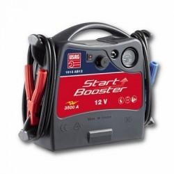 USAG 1613 AB12 - Tragbarer Batteriestarter für Fahrzeuge 3500A 12V