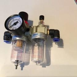 Luftentfeuchter / Druckregler / Ölzerstäuber für Druckluft