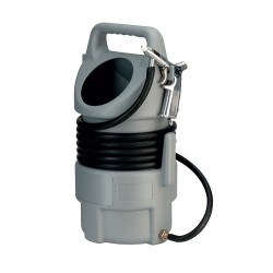Rodcraft sandblasting gun with bucket