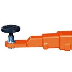 Modena Asymmetrische, hydraulische 2-palenhefbrug