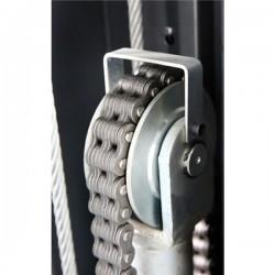 Modena MO-62 Asymmetric, hydraulic 2 post lift
