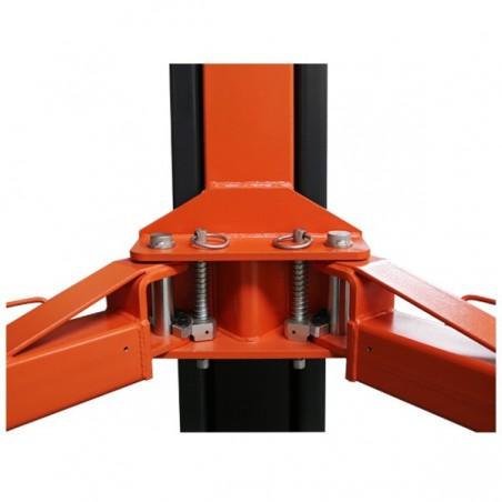 Modena Pont 2-colonnes adsymmetrique et hydraulique avec mini base 3,5T