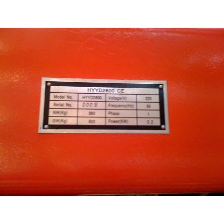 Poetsbrug 2800kg - 220V - CE