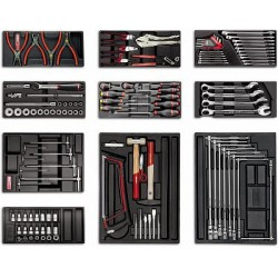 USAG 495 A2 - Assortment tools for repairing vehicles - 119 pieces