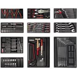 USAG 495 A2 - Assortment tools for repairing vehicles - 119 pieces