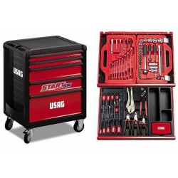 USAG 516 SP5B Start tool trolley 146 pieces