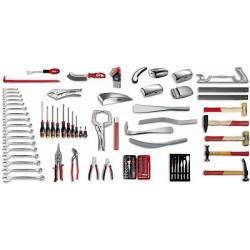 USAG 496 C1 Sortiment Werkzeuge für Karosserie (107-teilig)
