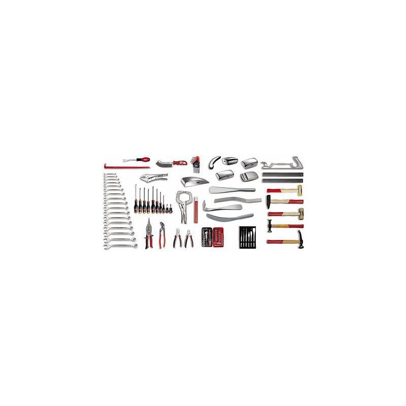 USAG 496 C1 Assortment tools for bodywork (107-piece)