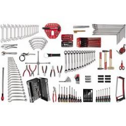 USAG 496 B3 Sortiment von Werkzeugen für die Automobilindustrie (204 Teile)