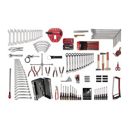 USAG 496 B3 Assortment of tools for automotive (204 parts)