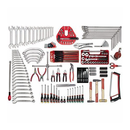 USAG 496 B2 Assortment of tools for automotive (146 pieces)