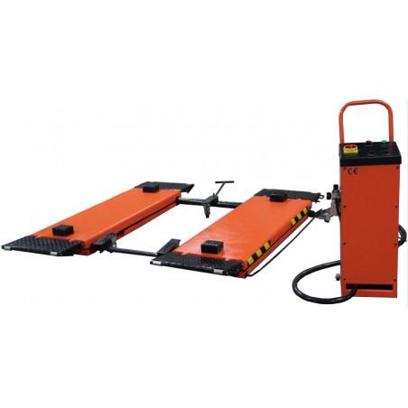 SCHOWROOMMODEL- OreikO verplaatsbare schaarhefbrug  bandenbrug HYCD3000M - 220V - 3000kg - CE